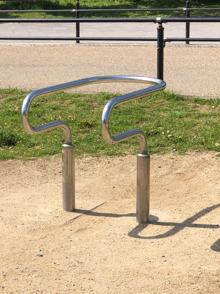 さやか公園の平行棒