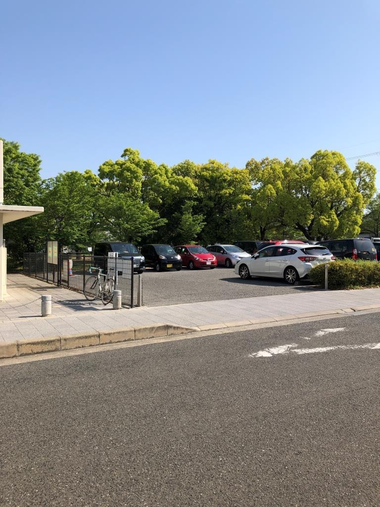 さやか公園の駐車場