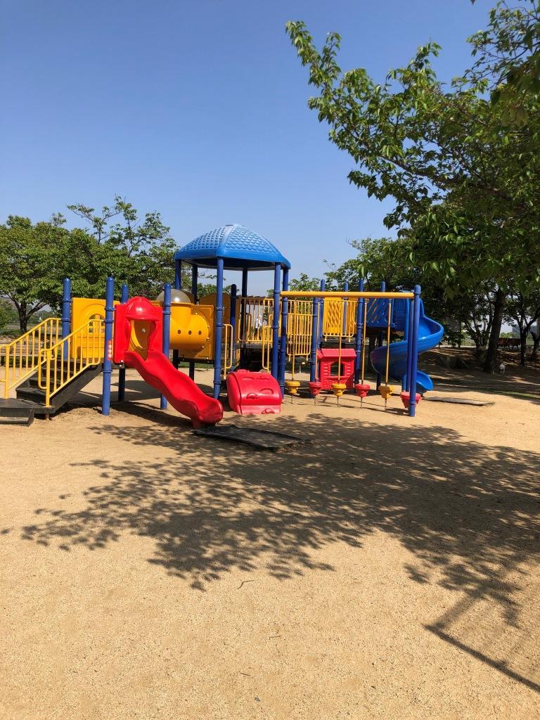 さやか公園の大型遊具