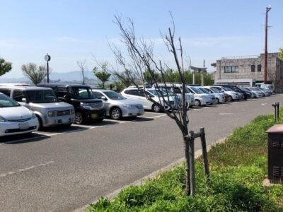狭山池公園の駐車場